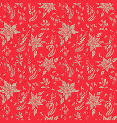Floral nature pattern-06 vector