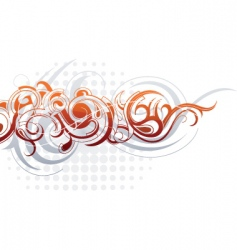 graphic design background vector image