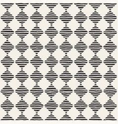 hand drawn seamless repeating pattern vector image