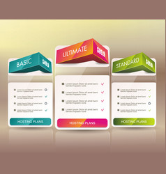 Payment plans banners design can be used for vector