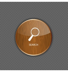 Search wood application icons vector image