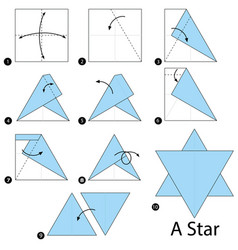 Origami Star of David - YouTube | 250x238