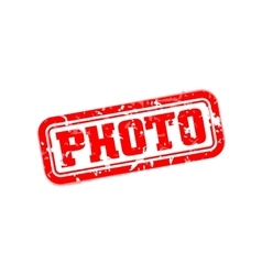 Photo rubber stamp vector image vector image