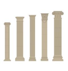 Set of column 2 vector