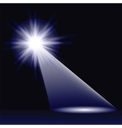 Abstract blue light vector