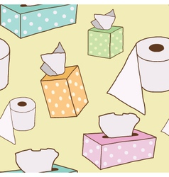 Seamless Tissue Paper vector image