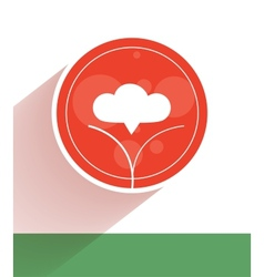 Flat ecology concept vector image
