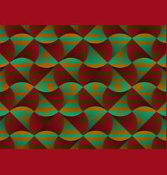 African wax print fabric ethnic tribal ornament vector