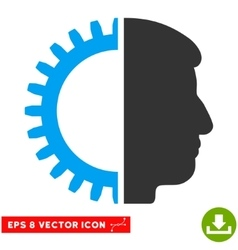 Android Head Eps Icon vector
