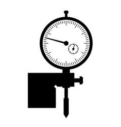 depth gauge vector image