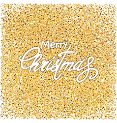 gold and white Christmas background vector image