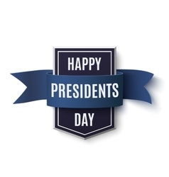 Happy Presidents Day background template vector