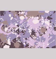 pink brown purple white beige camouflage vector image
