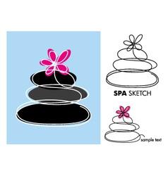 SPA sketch vector