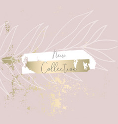 Trendy hand drawn background textures with floral vector