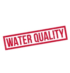 Water Quality rubber stamp vector
