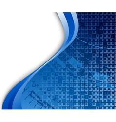 technological banner vector image