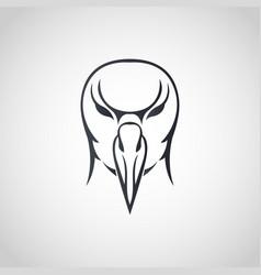 albatross logo icon design vector image