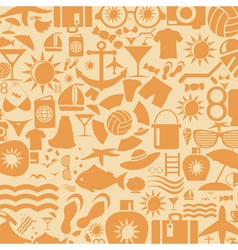 Background a beach vector image vector image