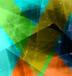 Abstract triangle background1 vector image