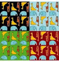 animal wallpaper vector image