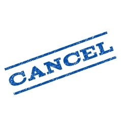 Cancel Watermark Stamp vector