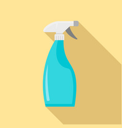 Clean spray bottle icon flat style vector