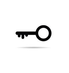 key black vector image