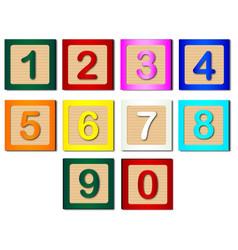 Number blocks vector