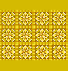 Seamless mosaic pattern ornament tiles vector