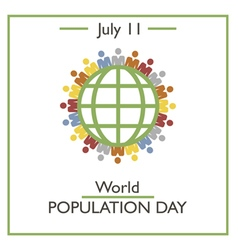World Population Day vector