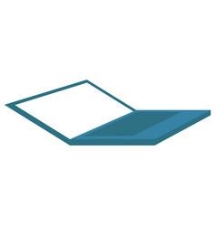 abstract laptop icon vector image