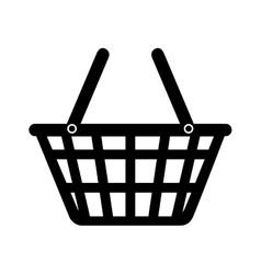 basket market buy shop store design vector image