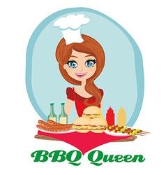 BBQ queen vector