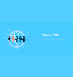 Focus target group vector