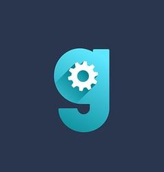 Letter G technology logo icon design template vector