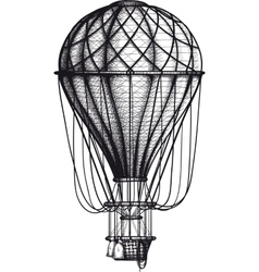 Old Air Ballon vector image