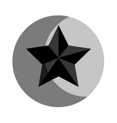 Star award isolated icon vector