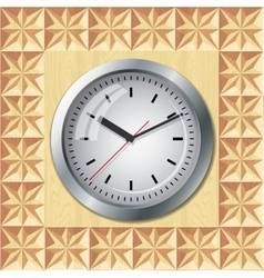 Wall mounted clock vector