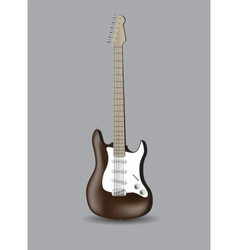 electro guitar vector image