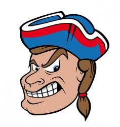patriots vector image vector image