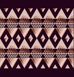 tribal traditional repeatable motif in art deco vector image vector image