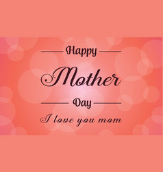 Card mother day background collection vector