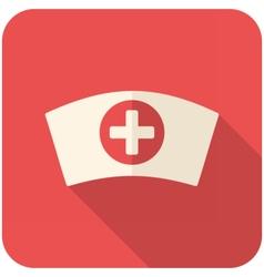 Nurse cap icon vector image