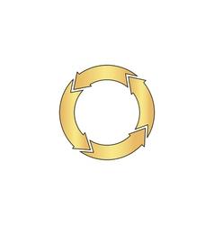 organic computer symbol vector image