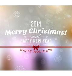 2014 Christmas Card vector