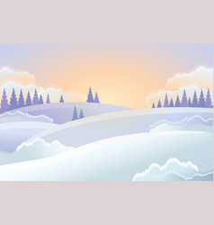 christmas holiday horizontal background vector image