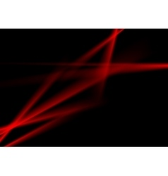 Dark red contrast abstract luminous stripes vector image