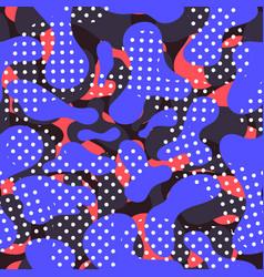 fluid color seamless pattern modern vector image