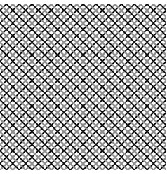 Grid mesh pattern with interlacing lines cross x vector